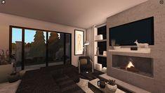 Simple Bedroom Design, Unique House Design, Simple House Plans, Family House Plans, Home Building Design, Building A House, Two Story House Design, House Blueprints, Loft Design