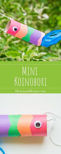 Guest Post: Mini Koinobori and Sticker Scavenger Hunt Classroom Art Projects, Projects For Kids, Diy For Kids, Crafts For Kids, Classroom Fun, Asian Crafts, Fish Crafts, Hunting Crafts, Camping Crafts