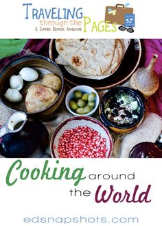 Cooking Around the World with Kids: Roundup of resources for your virtual summer travels via books and food.