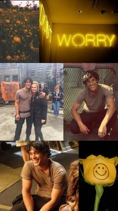 #Bellamyblake #the100 #happy #yellow #smile #bellarke #Clarkegriffin