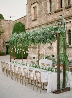 greenery-wedding-reception-decor