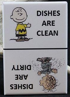 Clean / Dirty Pigpen & Charlie Brown - Dishwasher Magnet. Peanuts Player One Collectables http://www.amazon.com/dp/B0192EEM80/ref=cm_sw_r_pi_dp_7ksSwb03YGRXH