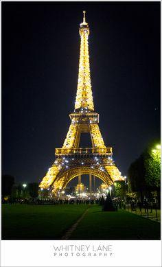 Paris Photography by night Eifel Tower