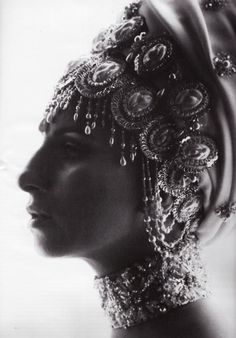 Guess who? Iconic  beauty. Cannot be duplicated. The original Barbra  Streisand. and the head dress! Whoa!