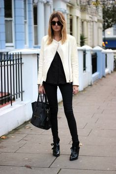 LoLoBu - Women look, Fashion and Style Ideas and Inspiration, Dress and Skirt Look Moda Australiana, Style Work, Look Street Style, My Style, Street Styles, Trendy Style, Classic Style, Office Looks, Street Mode