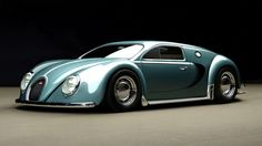 A Classic Work Of Art: 1945 Bugatti Veyron
