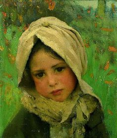 George Clausen, A Little Child.