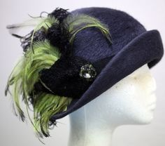 Phryne's Finery ~ This hat was made to match one of Phryne's winter coats ~ Miss Fisher's Murder Mysteries