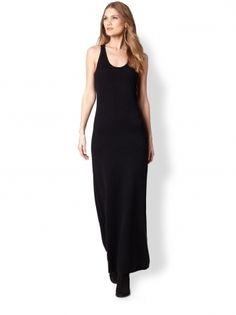 Black racerback dress maxi dresses