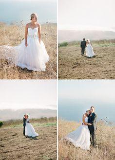outdoor weddings and big poofy dresses