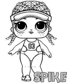 Coloring Pages For Kids Lol Dolls from Lol Doll Coloring Pages Printable. Toys LOL are treading the peak of popularity among children throughout the world. Even though the doll inside the LOL Surprise ball is not exactly rev. Ninjago Coloring Pages, Coloring Pages For Girls, Cartoon Coloring Pages, Coloring Pages To Print, Coloring For Kids, Colouring Pages, Coloring Sheets, Coloring Books, Colorful Drawings