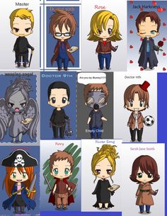 doctor who deviantart | ... Doctor who Characters Adoption -Open- by ~Sakura19912 on deviantART