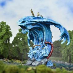 Kings of War Monsters: Designing The Greater Water Elemental – Mantic Blog