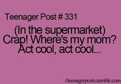 LOL I do this every time I get lost in Costco! **pulls out phone and frantically texts WHERE R U?!?!***