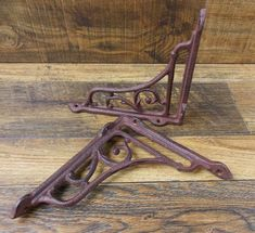 "Decoration Hook rustic 3.5/"" Long Vintage-Style Cast Iron Faucet//Spigot"