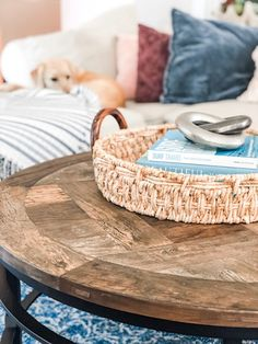 One of the easiest ways to add a personal touch to yoru home is by decorating with coffee table books. check out some of my ideas for Coffee Table Styling, Coffee Table Books, Decorating Coffee Tables, Coastal Living Rooms, Home Living Room, Living Room Decor, Bedroom Decor, Favorite Paint Colors, Decorating Small Spaces