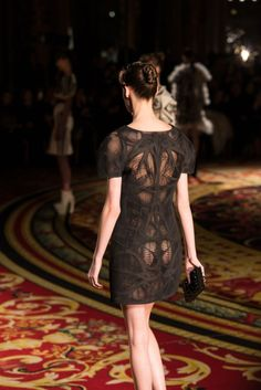 3D printed dresses at Paris Fashion Week  http://www.adafruit.com/blog/2013/01/22/3d-printed-dresses-at-paris-fashion-week/