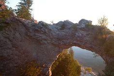 Arch Rock, this is a really cool rock..