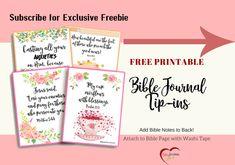 60 Best Bible Journal Freebies images in 2018 | Bible journal