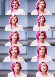 Demi Lovato♥ #Lovatics #Pink #Style #Fan #Lovato #Demi #Pic