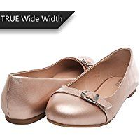 de918041ef72 Amazon sale URL  amzn.to 2unM1t0 Aukusor Women s Wide Width Flat Shoes -  Comfortable Classic Pointed Toe Sl…