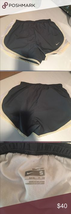 Nike Dryfit Shorts Previously worn but in excellent condition! No tears, rips, or stains. Open to reasonable offers through feature! Nike Shorts