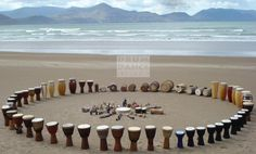 leather bound drum drum circle - Google Search