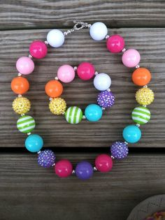 Hey, I found this really awesome Etsy listing at https://www.etsy.com/listing/175085219/rainbow-sparkle-chunky-bubblegum