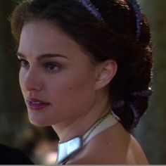 Padme (Natalie Portman) of Star Wars  Conch Shell Curl
