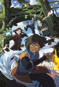 "2b5389a2e3e korranation  "" Korra and the gang are back in a new  darkhorsecomics  graphic novel"