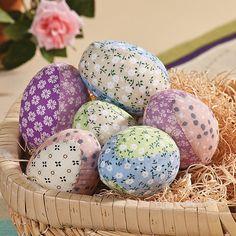 Fabric Eggs - OrientalTrading.com