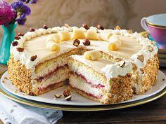 Marzipan-Torte backen - so geht's - marzipan-torte  Rezept