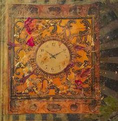 """Golden Hour"" 2015 Golden Hour, Over The Years, Clock, Drawings, Artist, Painting, Watch, Painting Art, Clocks"