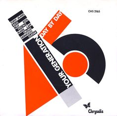 "Generation X's very first single, ""Your Generation"" from 1978, sported a striking graphic reminiscent of Russian Constructivist art. Notice how the color blocks spell out ""45,"" as in 45 RPM -- the playing speed of 7-inch singles. Due largely to guitarist Derwood's great guitar skill, the band experimented with a new hybrid punk/heavy metal sound. Drummer Mark Laff was one of the finest musicians of the era."