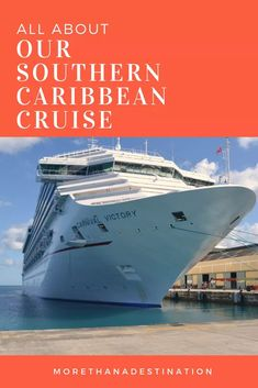 Our experience on a Southern Caribbean Cruise If you like cruises with many ports of call then this is the cruise itinerary for you. Best Cruise, Cruise Port, Cruise Travel, Cruise Vacation, Cruise Tips, Shopping Travel, Beach Travel, Honduras, Bolivia