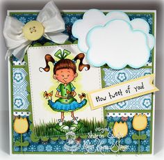 Grammas House of Cards: Kraftin Kimmie Stamps Release Day and Blog Hop!!