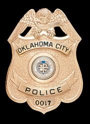 Oklahoma City, Ok Police Badge