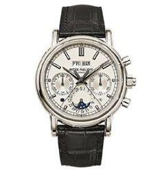 Patek Philippe Split Seconds Chronograph & Perpetual Calendar Platinum 5204P-001