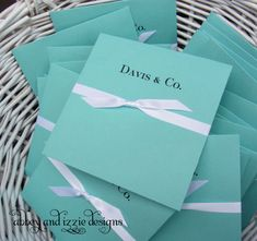 Tiffany Blue Favors by abbey and izzie designs on Etsy,