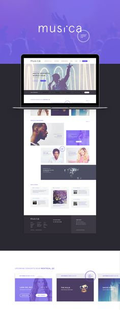 MUSI.CA on Behance