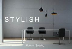 Renown - stylish seating by Triumph Furniture.