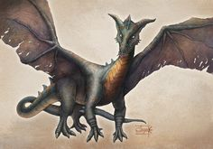 Dragon by Aishwaary Anant. freelance & superb skill indian illustrator.