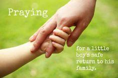 Praying for your safe return.