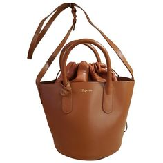 REPETTO \N CAMEL LEATHER HANDBAG. #repetto #bags #leather