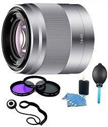Sony SEL50F18 - 50mm f/1.8 Telephoto Lens with Filters and More - http://electmecameras.com/camera-photo-video/lenses/sony-sel50f18-50mm-f18-telephoto-lens-with-filters-and-more-com/