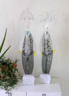 """Glaskunst und Design Michael Günther  Figur """" People""""  www.Arte-Glas.com"""