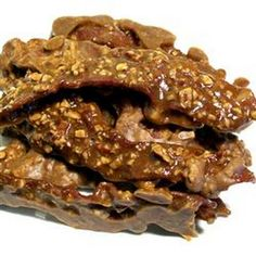 Maple Praline Bacon - Southern Cuisine _ Source: http://allrecipes.com ...