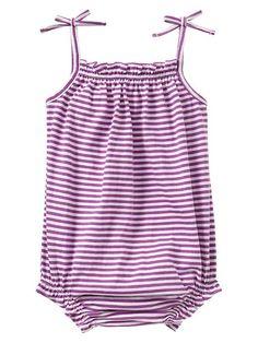 Stripe bubble bodysuit Product Image