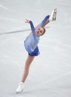 Gracie Gold of the United States competes in the Team Ladies Free Skating (c) Getty Images
