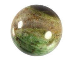 Chrysoprase sphere - www.spiritualgarden.nl